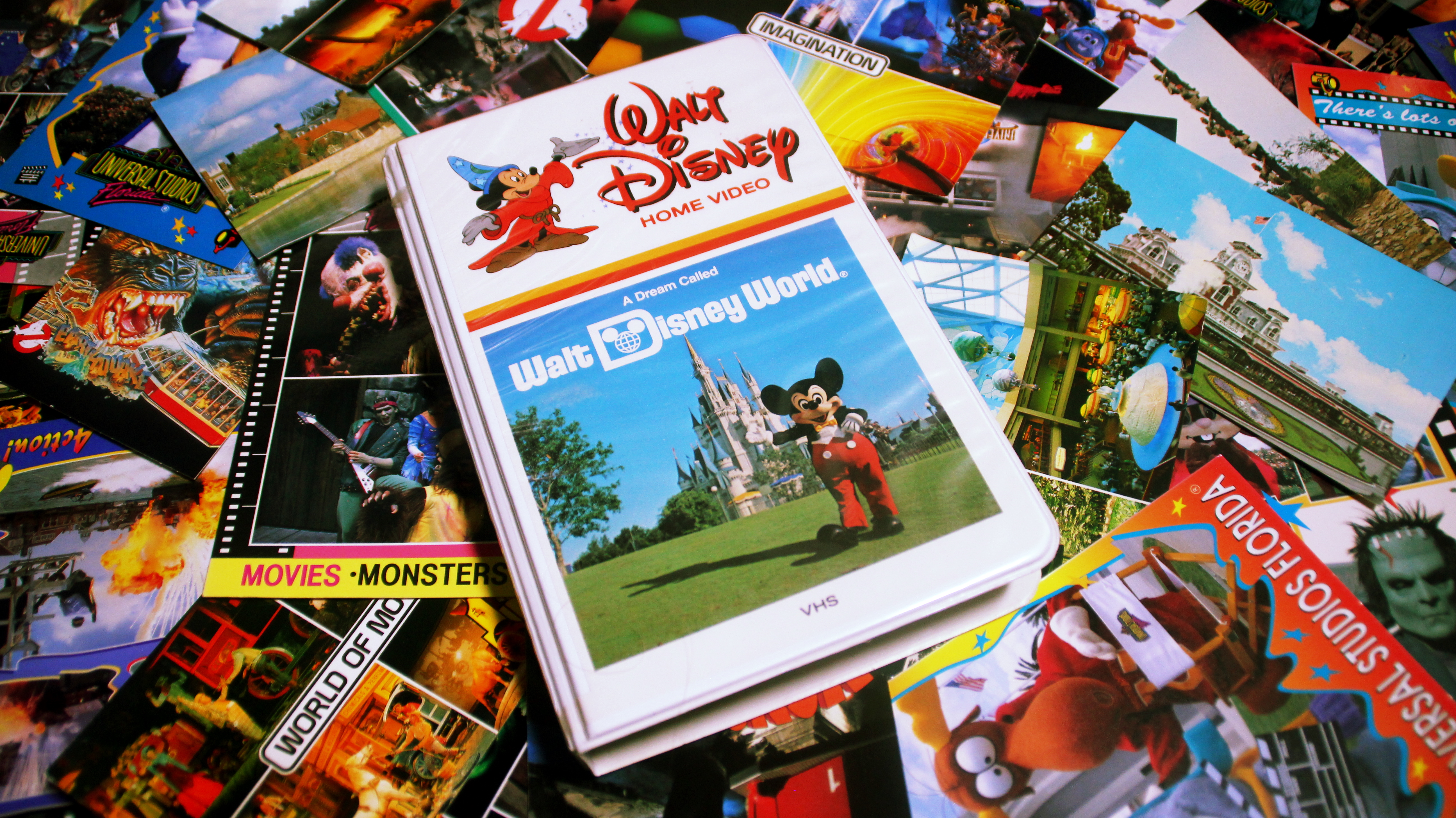 Retro Rewind The Lost History Of Walt Disney World S Super Weird Vhs Vacation Tapes Page 1