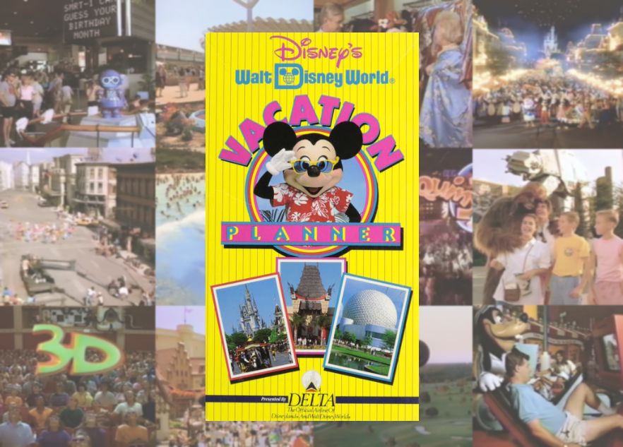 Retro Rewind The 1993 Walt Disney World Vacation Planner Page 1