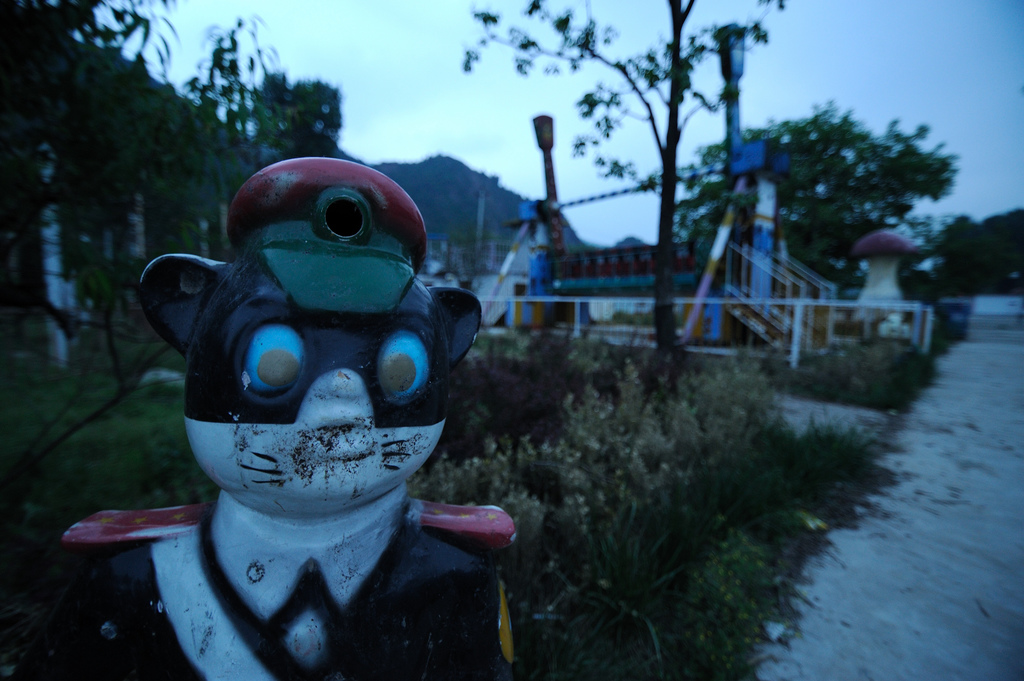 20 Haunting Images Of Creepy Abandoned Amusement Parks August 2014 Edition Page 1