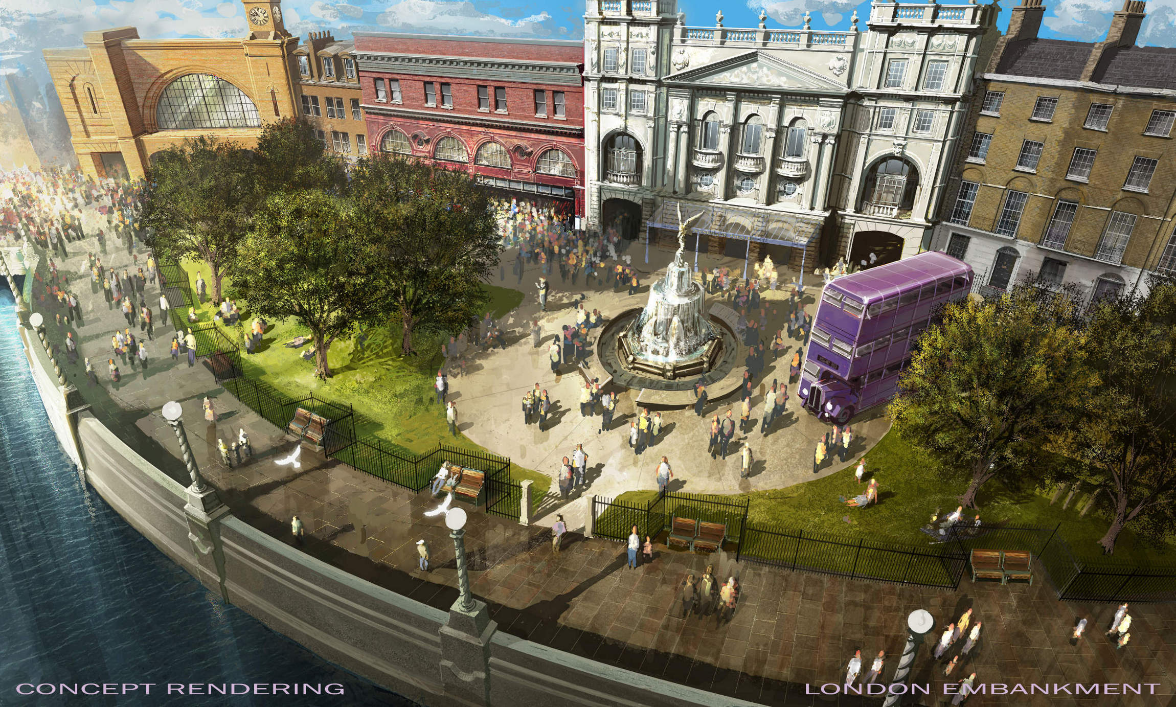 Complete Wizarding World of Harry Potter - Diagon Alley ...