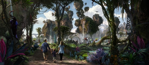 Pandora - The World of Avatar concept art