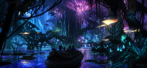 Avatar boat ride