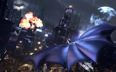 "The sandbox in action: ""Batman: Arkham City."" Image © Warner Bros. Interactive."