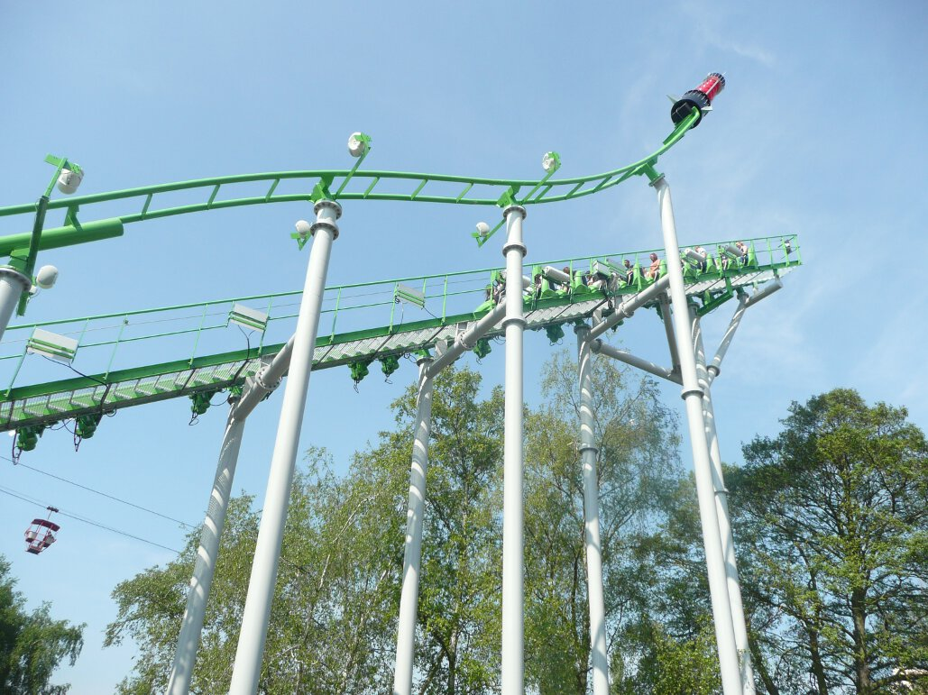 Ben 10 Ultimate Mission lift hill (3)