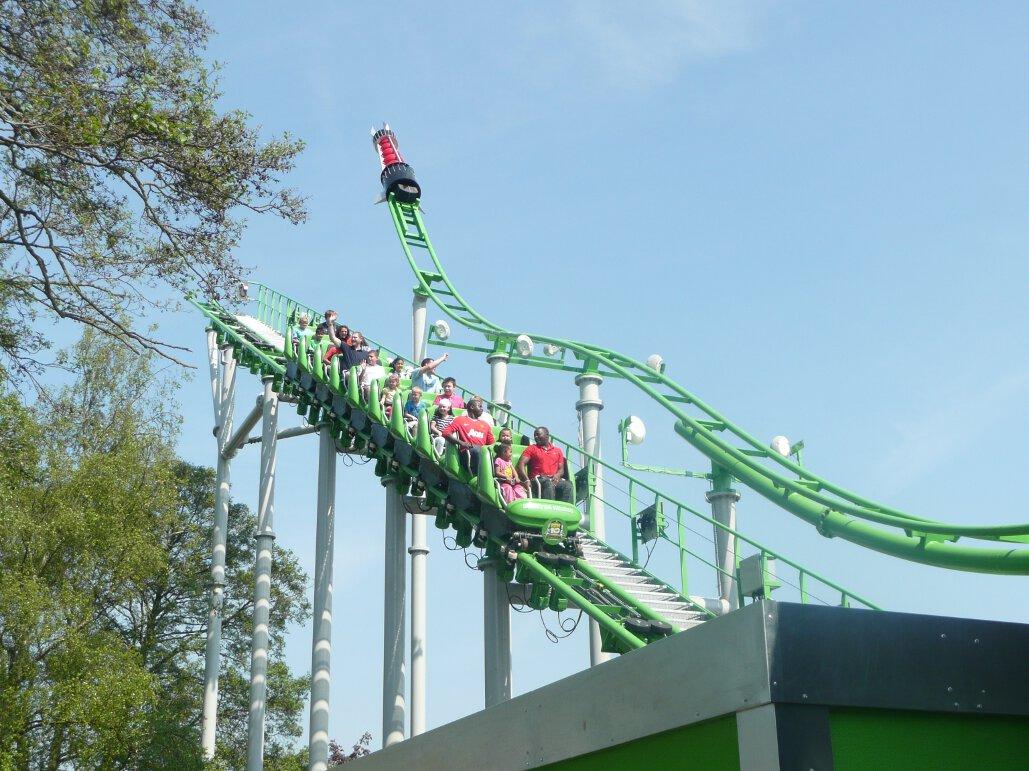 Ben 10 Ultimate Mission lift hill (5)
