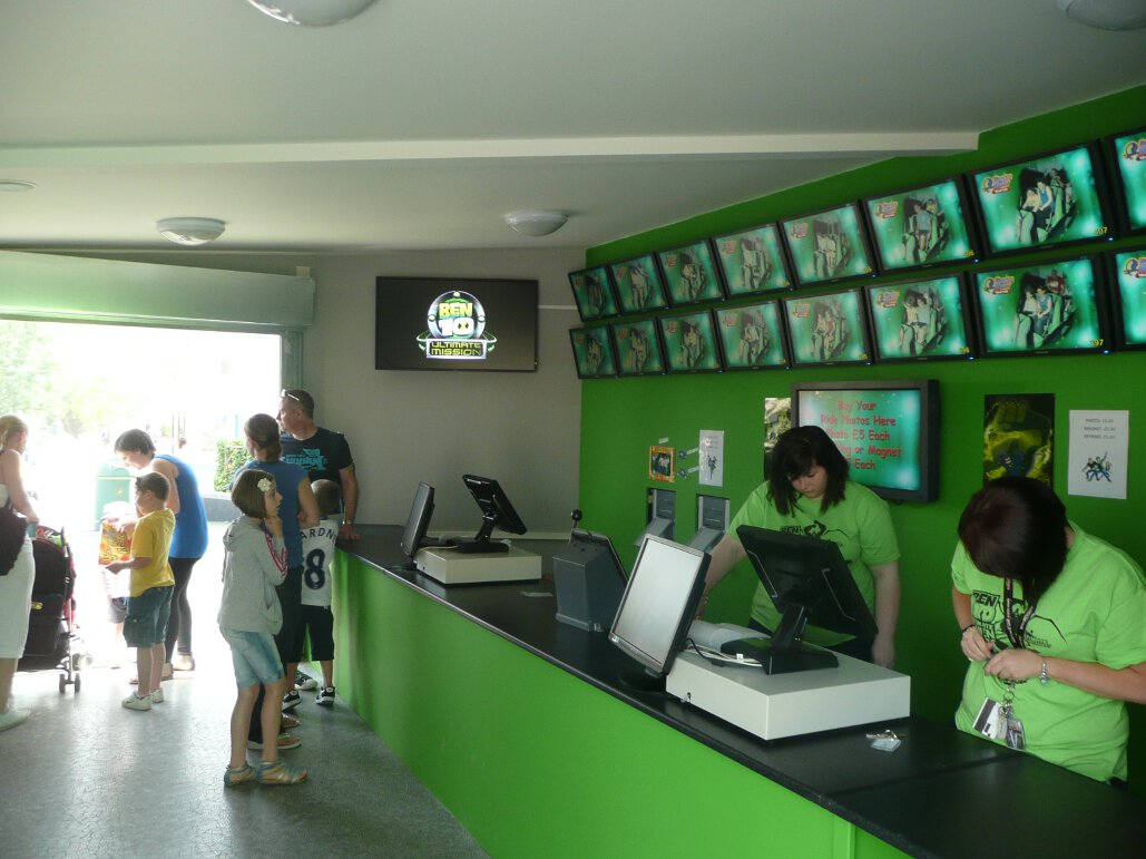 Ben 10 Ultimate Mission photo booth