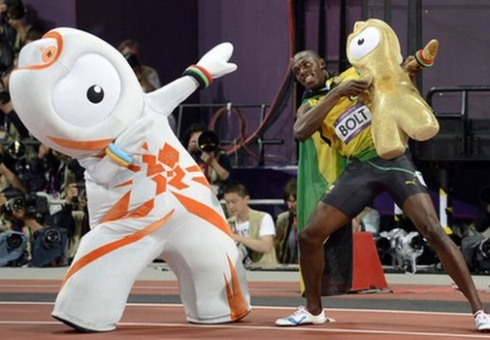 Bolt and Wenlock