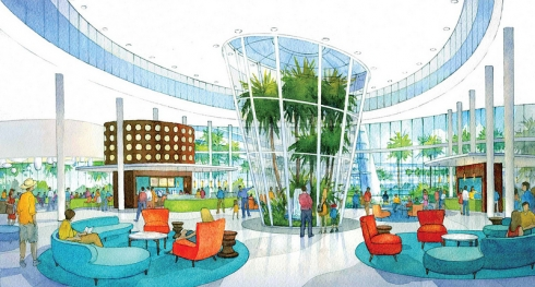 Cabana Bay Beach Resort concept art (3)