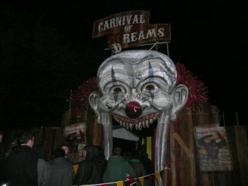 Carnival of Screams entrance