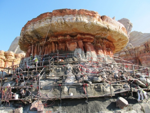 Cars Land construction (1)