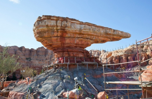 Cars Land construction (2)
