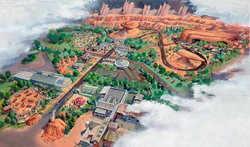 Cars Land overview image