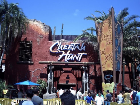 Cheetah Hunt entrance