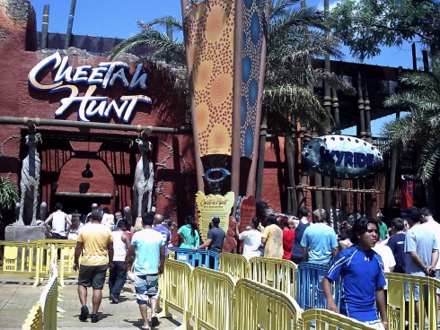 Cheetah Hunt queue