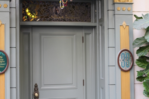 Club 33 entrance door