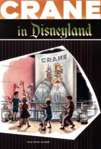 Crane in Disneyland