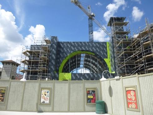 Kings Cross Station construction