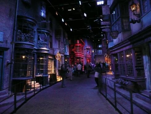 Diagon Alley at Warner Bros Studio Tour