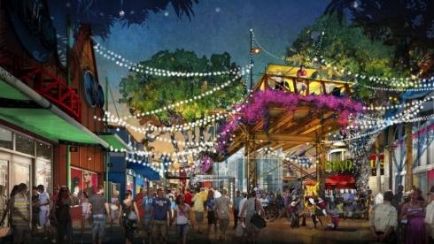 Disney Springs concept art. Image © Disney.