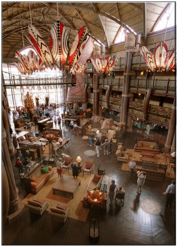 Dinney's Animal Kingdom Lodge (2)