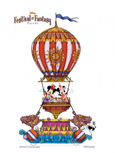 Festival of Fantasy parade concept art (1)