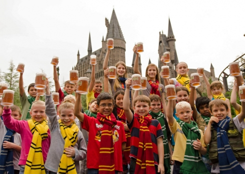 Five millionth Butterbeer celebration