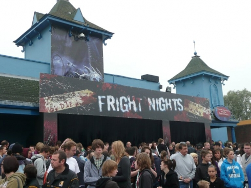 Thorpe Park Fright Nights entrance