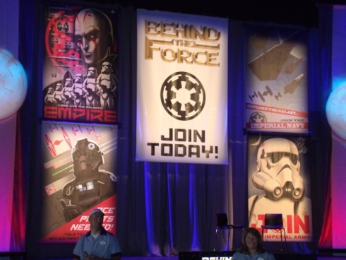Behind the Force at Star Wars Weekends