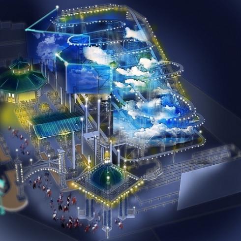 Goofy's Sky School concept art