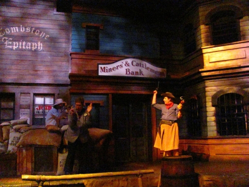 Great Movie Ride cowboy