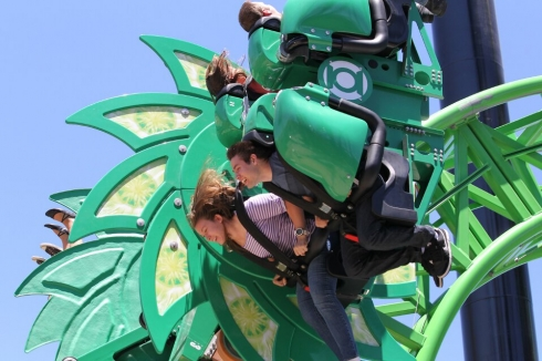 Green Lantern: First Flight car close-up