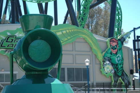 Green Lantern: First Flight entrance