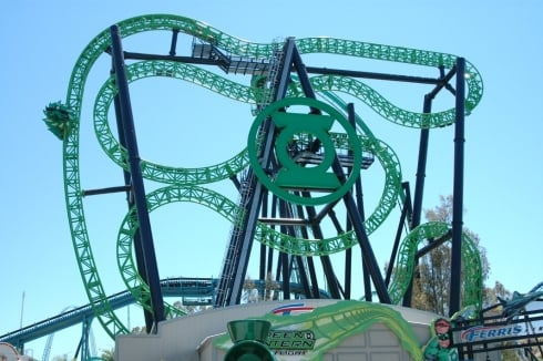 Green Lantern: First Flight layout