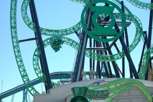 Green Lantern: First Flight final loop