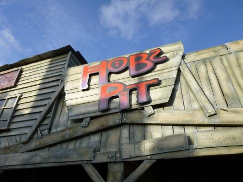 Hobs Pit sign