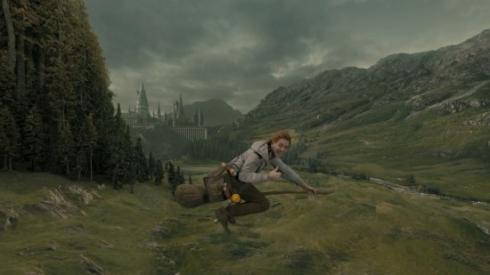 Hogwarts Express scene