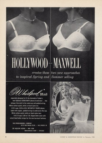 Hollywood-Maxell Bras