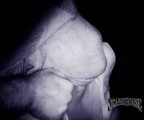 ScareHouse hoods and restrains you in its Basement. Image © ScareHouse.