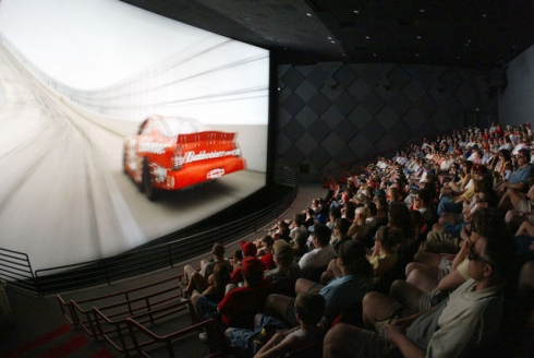 IMAX laser projection