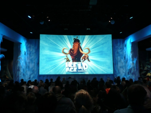 Ice Age 4-D screen