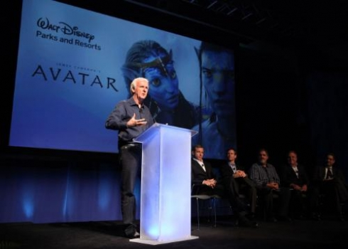 James Cameron at Disney Avatar announcement