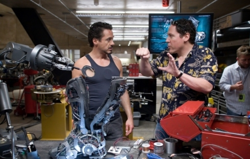 Jon Favreau directing a theme park ride? Yes, please. Image © Marvel Entertainment.