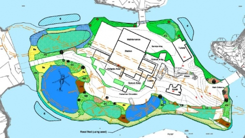 Thorpe Park LC12 site layout