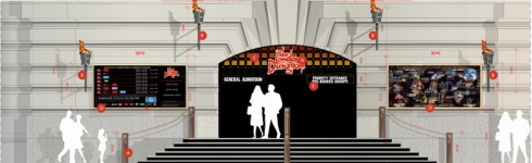 London Dungeon entrance plans