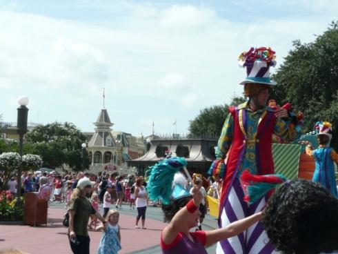 Afternoon Parade at the Magic Kingdom