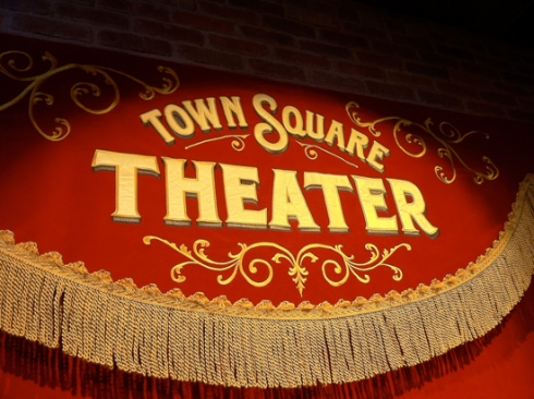 Town Square Theater sign