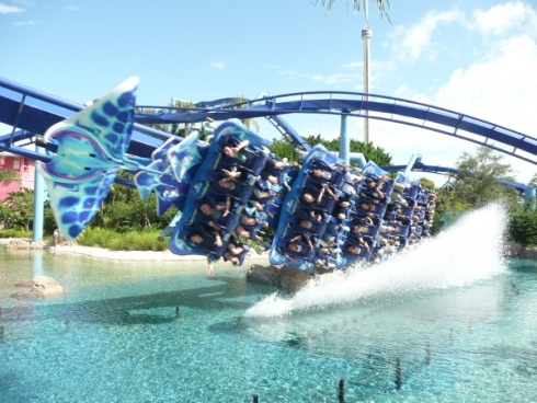 Manta rollercoaster