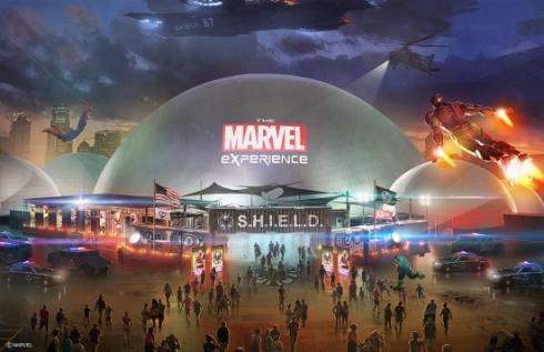 Marvel Experience artwork