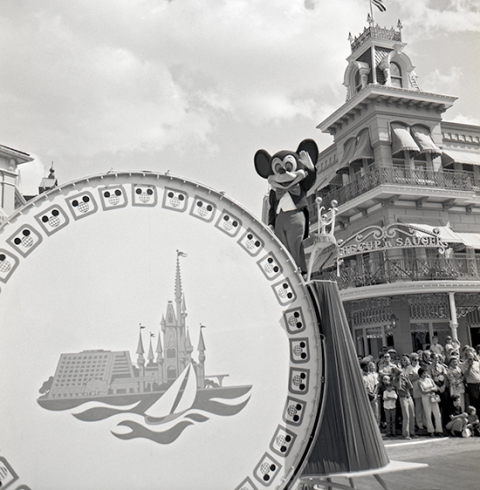 Mickey Mouse in 1971