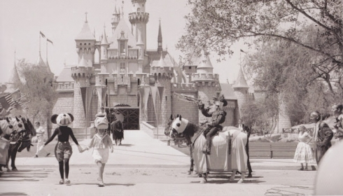 Mickey and Donald in 1955